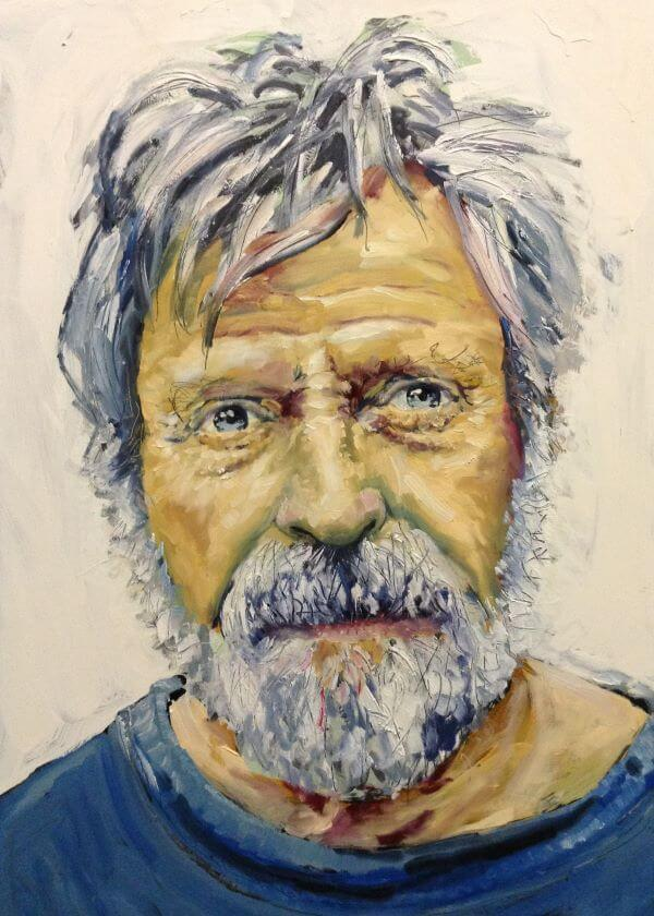 Philip David was awarded an Award of Excellence 2016 for this portrait of Ross Edwards